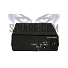 Pacco batteria a Lithium Ion ricaricabile per microtelecamere