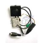 Microcamera wireless a colori con trasmettitore audio/video